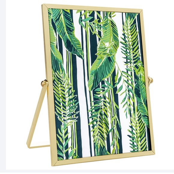 Lilly Pulitzer Picture Frame Gold Vine Life NWT